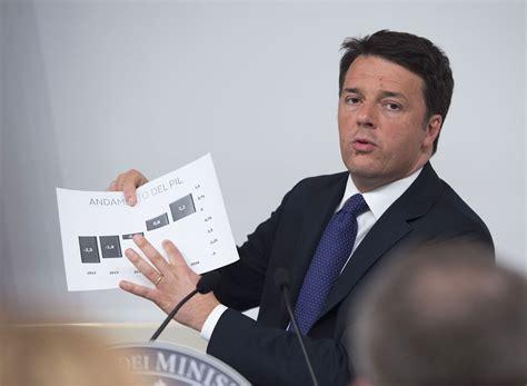 consiglio dei ministri renzi governo italiano il presidente consiglio dei ministri