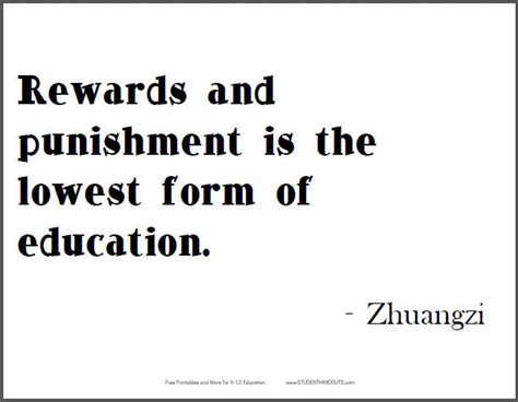 printable quotes education zhuangzi on education free printable quote student