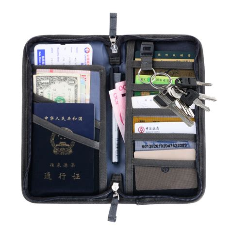 Item Dompet Traveling Card Id Holder Pasport Wallet passport cover travel wallet document passport holder organizer cover on the passport ticket