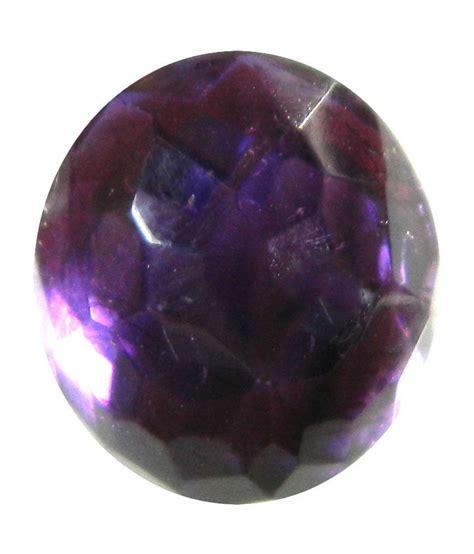 aashi gems violet faceted amethyst semi precious gemstone