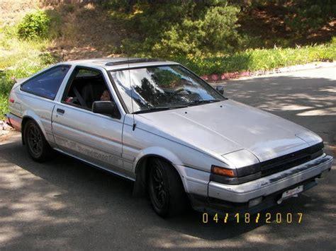 toyota ae88 aehachiroku 1985 toyota corolla specs photos