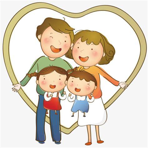 imagenes animadas de amor a la familia el amor de la familia amor familia afecto png y vector