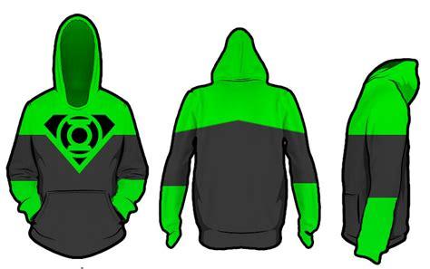Hoodie Green Lantern C3 superman x green lantern hoodie test 1 by kalel7 on deviantart