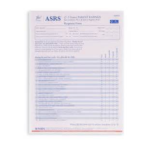 Childhood Autism Rating Scale 2 Sample Report Asrs Autism Spectrum Rating Scales Wps