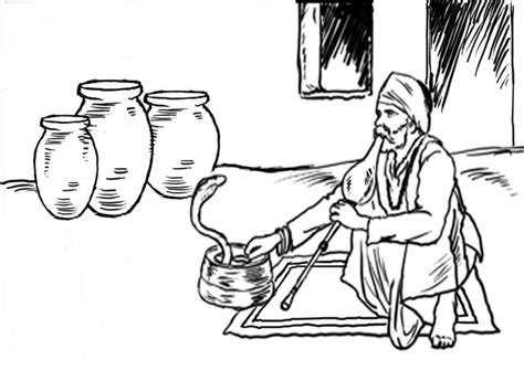 snake charmer coloring page coloring page snake charmer img 7663