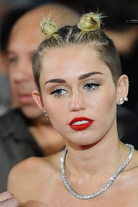 name of miley cyrus hairdo exclusive and horrible worst celebrity hairstyles