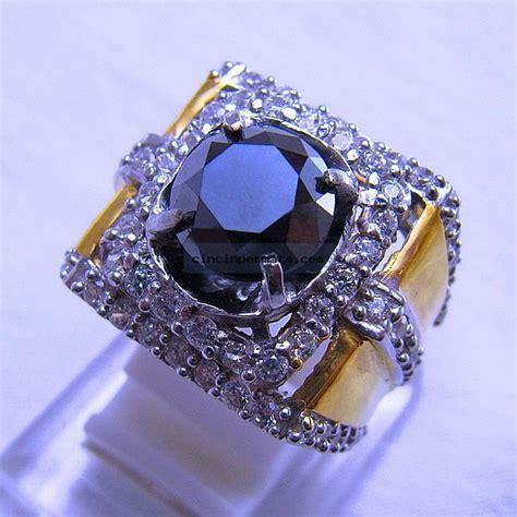 batu permata berlian hitam cincinpermata jual batu