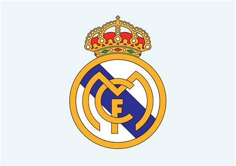 real madrid club de futbol logo vector ai free download real madrid cf vector art graphics freevector com