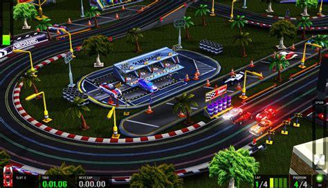 htr    slot car simulator   qubyte interactive