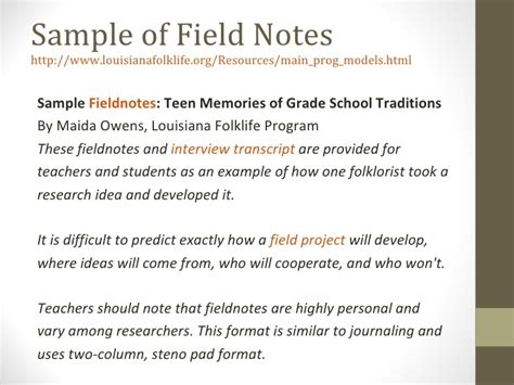 observation field notes template data analysis qualitative data presentation 2