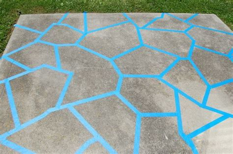 From Concrete Slab To Cozy Patio Until We Can Afford Can You Paint Patio Pavers