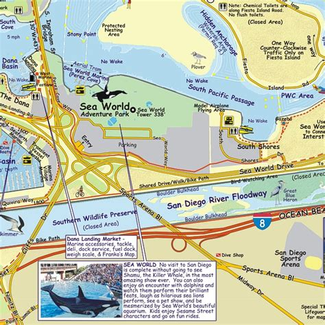 fishing boat rentals mission bay map folded mission bay boating