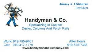 handyman business cards handyman business cards images
