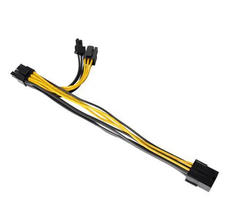 Pcie Power Splitter 8 Pin To Dual 6 2 Pin 25 Cm thermaltake global cpu 8pin to dual pci e 6 2pin