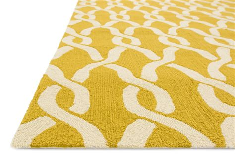 4x6 Indoor Outdoor Rug 4x6 Loloi Rug Indoor Outdoor Venice Goldenrod Ivory Hooked Polypropy Ebay
