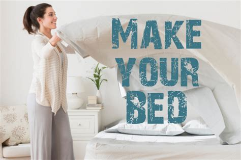 make your bed make your bed