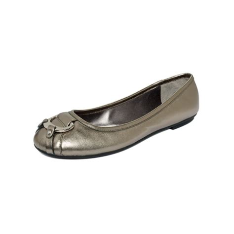 ralph flat shoes by ralph abigale flats in silver pewter lyst