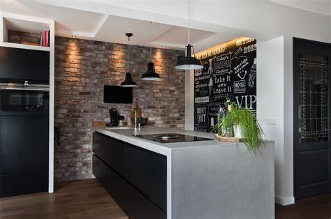achterwand keuken leisteen bar in keuken woonkamer tgwonen