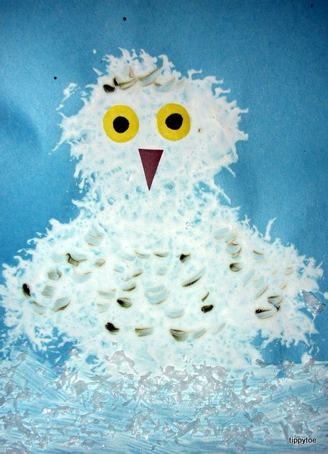 Tippytoe Crafts Snowy Owls - tippytoe crafts snowy owls