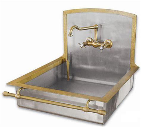 brass sinks  bring    world charm