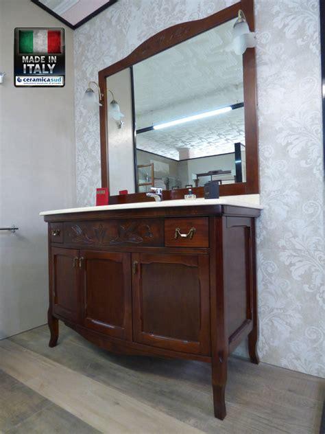 mobile bagno classico offerta mobile bagno classico viola in stile retr 242 con top