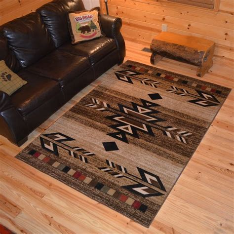 rustic cabin area rugs 17 best ideas about rustic area rugs on farm