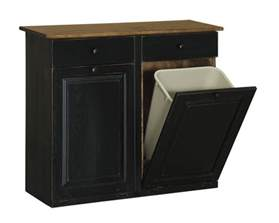 Kitchen Trash Bin Cabinet by Trash Bin Cabinet With Drawers Peaceful Valley