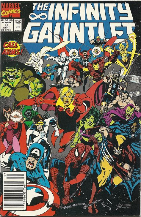 The Infinity Gauntlet Marvel Universe Carnage Not The Cletus Kasady Variety