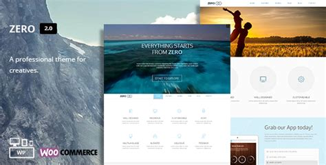 Teslathemes Montblanc Multi Purpose Creative Theme zero multi purpose theme by teslathemes themeforest