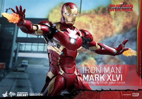 captain america by mark 1302908316 hot toys quot captain america civil war quot iron man mark 46