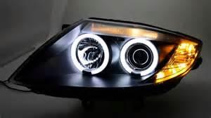sw ccfl eye headlights bmw z4 e85 e86 black sw