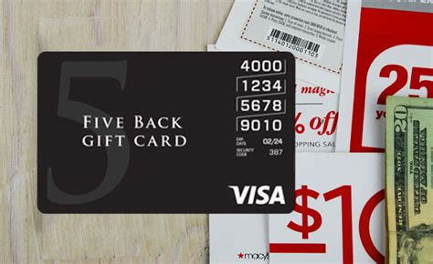 Visa Five Back Gift Card - four ways to save on visa gift cards gcg