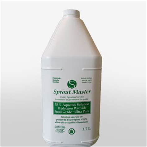 Hydrogen Peroxide Detox Foot Bath by Sprout Master Food Grade Hydrogen Peroxide 35 Aqueous