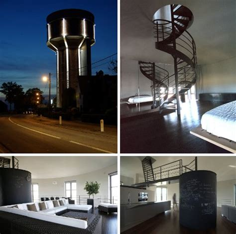 Modern Day Sky Castles: 7 Cool Converted Watertower Houses
