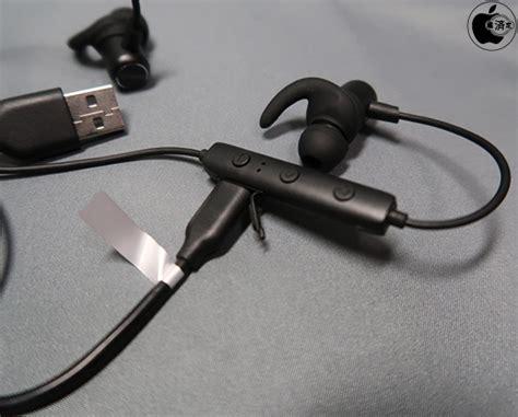 Anker Soundbuds Slim by アンカー ジャパンのipx4防水規格のbluetoothイヤフォン Anker Soundbuds Slim を試す