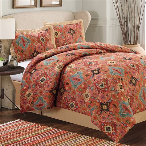 dream suite aztec comforter set king 4 piece save 52