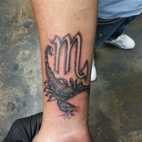 scorpion wrist tattoos scorpio tattoos and designs page 95