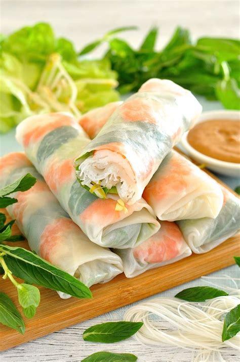 rice paper rolls rolls recipe