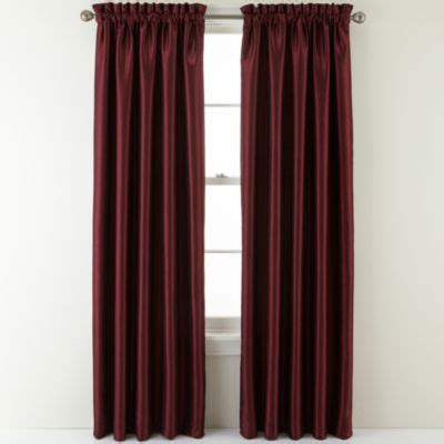 antique satin drapes sutton place antique satin rod pocket curtain panel