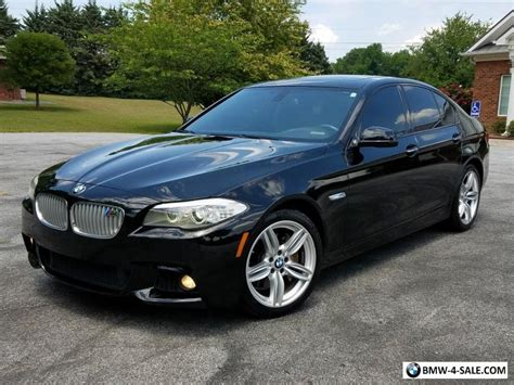 bmw 5 series 2012 bmw 550i xdrive m sport sedan ebay 2012 bmw 5 series rare full m sport pkg pwr shade nav twin turbo v8 for sale in united states