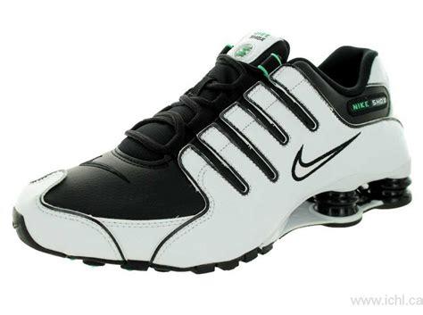 nike shoes for men on sale 2017 nike men s shox nz running shoe white white black