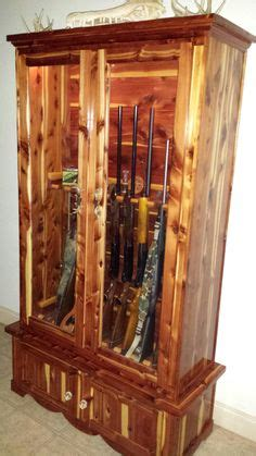 woodworking plans wood gun cabinets plans