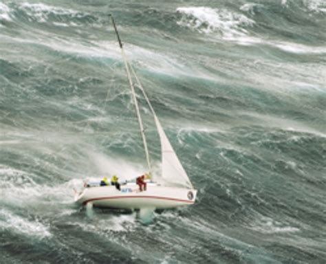 trimaran in heavy weather storm sails do you need them sail magazine