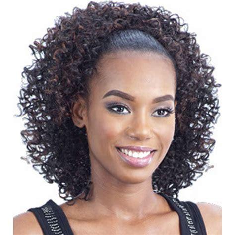 drawstring ponytail hairstyles fade haircut ponytails black hairstyles fade haircut