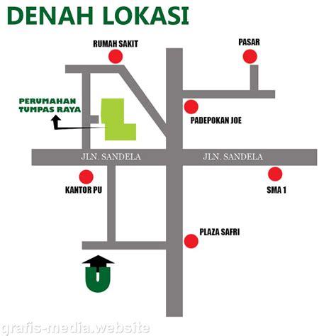 Membuat Peta Undangan Online | cara membuat peta lokasi perumahan di photoshop grafis