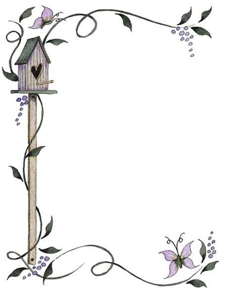 imagenes para decorar hojas blancas bordes decorativos bordes decorativos de mariposas para