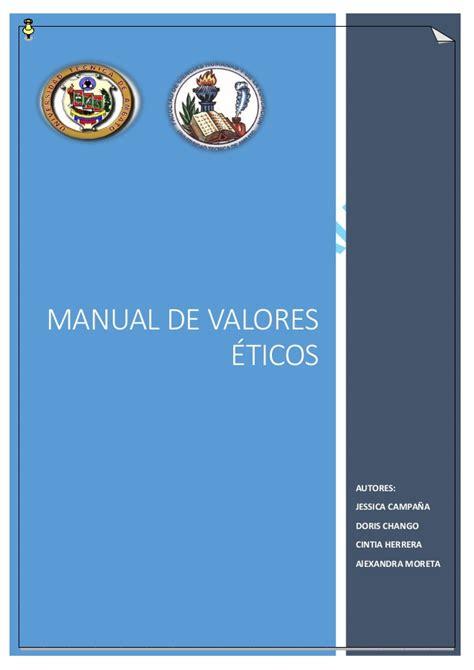 savia valores ticos 1 manual de valores 233 ticos