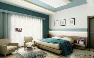Bedroom Color Schemes With Teal Bedroom Feature Walls