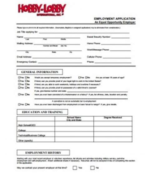 printable job application hobby lobby hobby lobby application online job forms