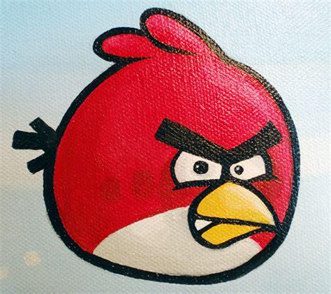angry birds painting nitrozac paintings bird a painting by nitrozac sold